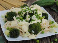 Spaghetti z brokułem