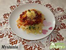 Spaghetti z dodatkiem kukurydzy