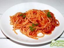 Spaghetti  z domowym sosem