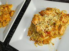 Spaghetti z Pesto z Bazylii