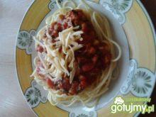 Spaghetti z pieczarkami 6