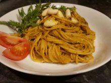 Spaghetti z pieczarkami