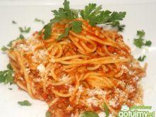 Spaghetti z polską nutą