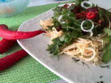 Spaghetti z rukolą wg hrabiny