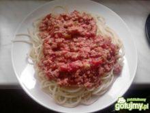 Spaghetti z sosem Neapoli