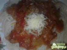 Spaghetti z sosem pomidorowym II