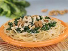 Spaghetti z sosem szpinakowym Hortex