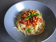 Spaghetti z warzywami Elfi