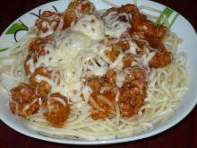 spaghetti z zakochanego kundla z serem