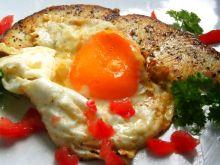 Stek z rekina z jajkiem sadzonym