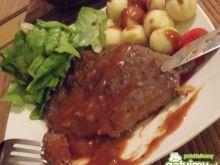 Stek z sosem