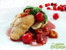 Steki z kurczaka z sosem czereśniowym