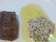 Steki z sosem z zielonego pieprzu