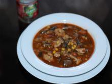 Strogonow sycąca zupa
