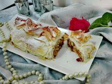 Strudel jabłkowy z żurawiną - 100 kalorii