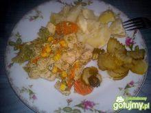 Studencki obiad mięsny
