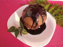 Suflet czekoladowy z melisą