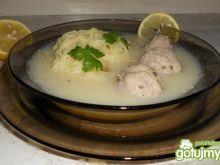Supa avgolemono po mojemu