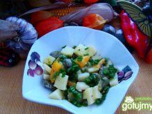 Super sałatka z bobu i ziemniaków