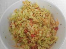 Surówka do obiadu z kapustą pekińską i marchewką