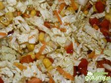 Surówka do obiadu z kukurydzą