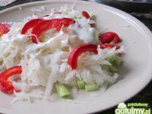 Surówka jesienna z białej rzepy