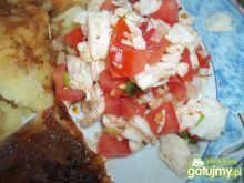Surówka kapuściano-pomidorowa