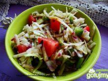 Surówka letnia z sosem balsamicznym