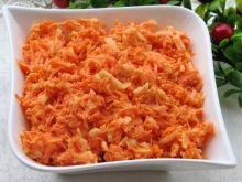 Surówka marchewkowa z chrzanem