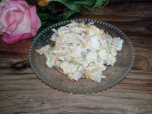 Surówka obiadowa w sosie czosnkowym