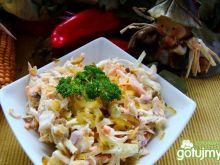 Surówka obiadowa z kapusty
