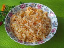 Surówka obiadowa z kapusty kiszonej