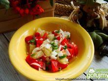 Surówka obiadowa z papryki marynowanej