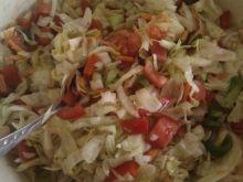 Surówka obiadowa z sałaty lodowej