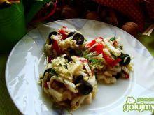 Surówka pekińska z oliwkami