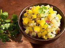 Surówka z ananasa