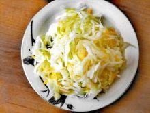 Surówka z białej kapusty - chińska