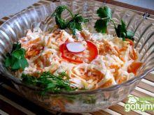 Surówka z białej rzodkwi z majonezem