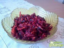 Surówka z buraka i marchewki do obiadu