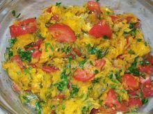 Surówka z dyni i pomidorów