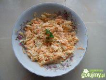 Surówka z kalarepki i marchewki