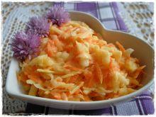 Surówka z kalarepy i marchewki