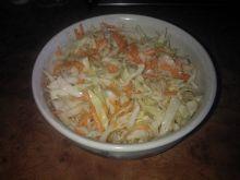 Surówka z kapusty i marchewki