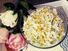 Surówka z kapusty z kukurydzą