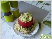 Surówka z kiszonej z pekinką i jabłkiem