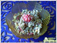 Surówka z kiszonych i białej rzodkwi