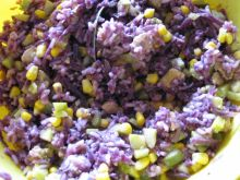 Surówka z kukurydzą