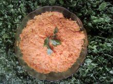 Surówka z marchewki, dyni i jabłka