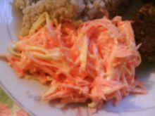 Surówka z marchewki z serem