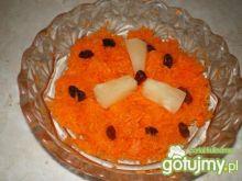 Surówka z marchwi i ananasa